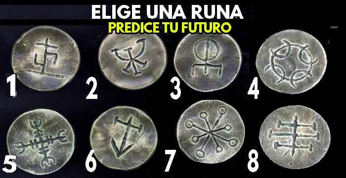 ✅ Elige 2 RUNAS MAGICAS y te revelará el futuro